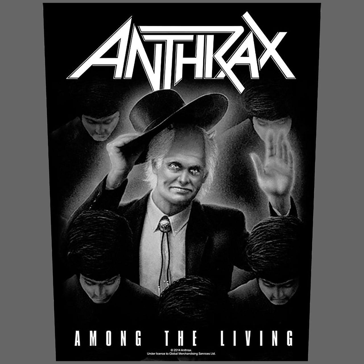 Anthrax - Among the Living (Backpatch)