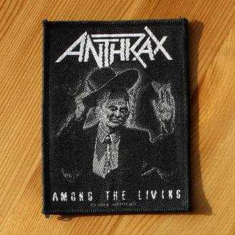 Anthrax - Among the Living (Woven Patch)