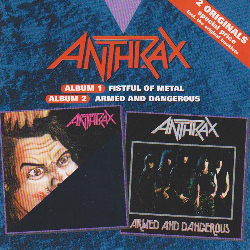 Anthrax - Fistful of Metal / Armed and Dangerous (2CD)