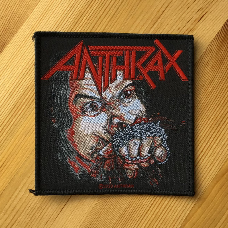 Anthrax - Fistful of Metal (Woven Patch)