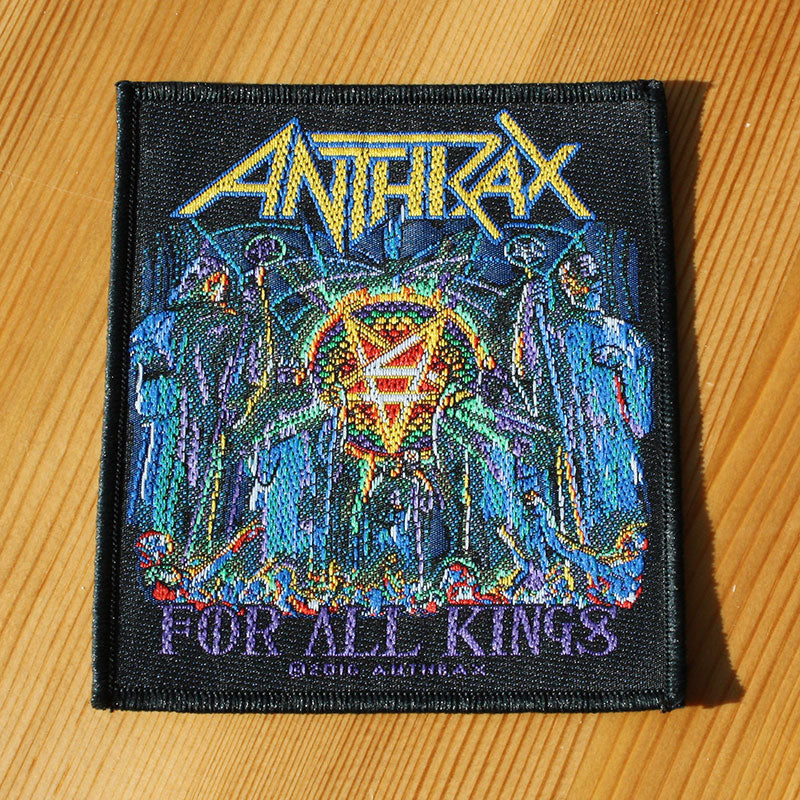 Anthrax - For All Kings (Woven Patch)