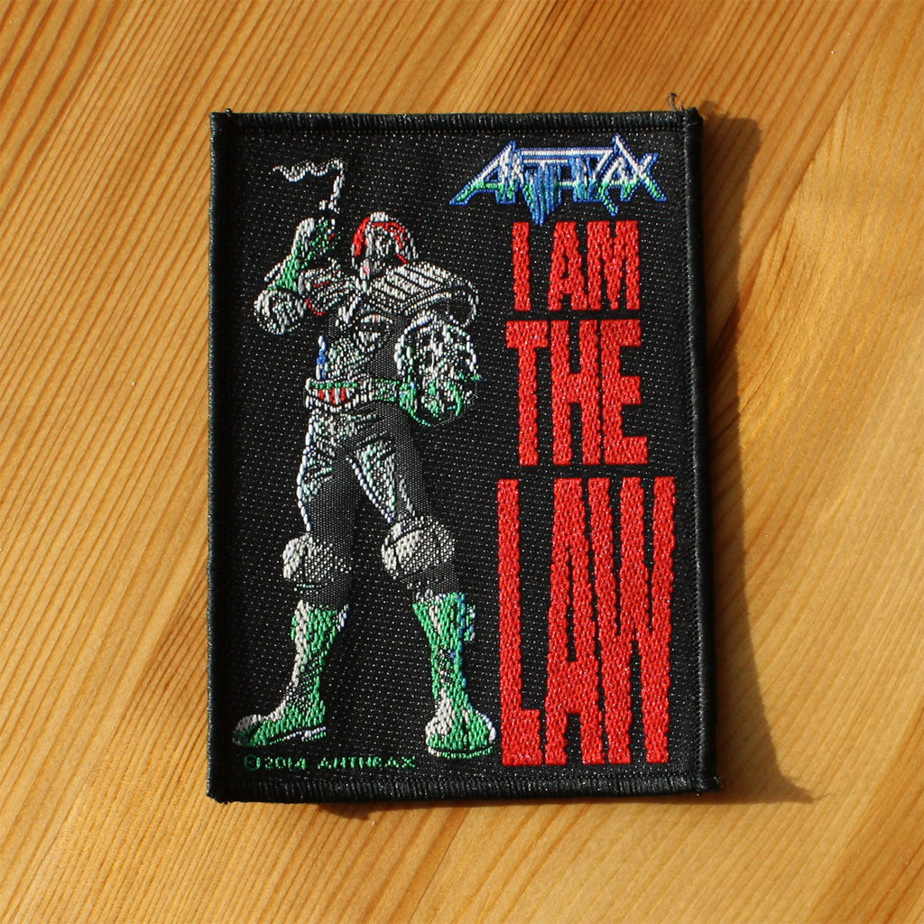 Anthrax - I Am the Law (Woven Patch)