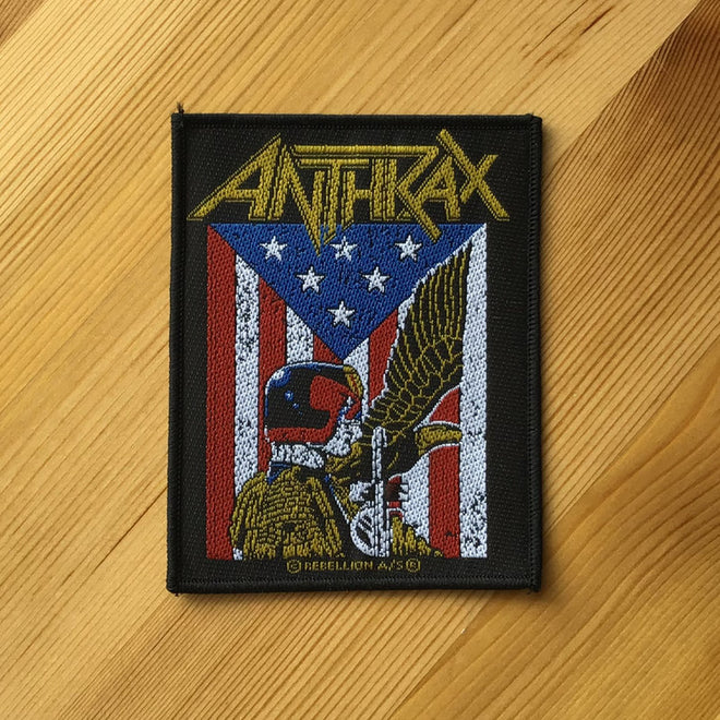 Anthrax - Judge Dredd (Woven Patch)