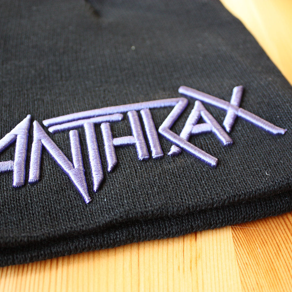 Anthrax - Purple Logo (Beanie)