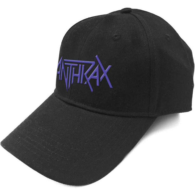Anthrax - Purple Logo (Cap)