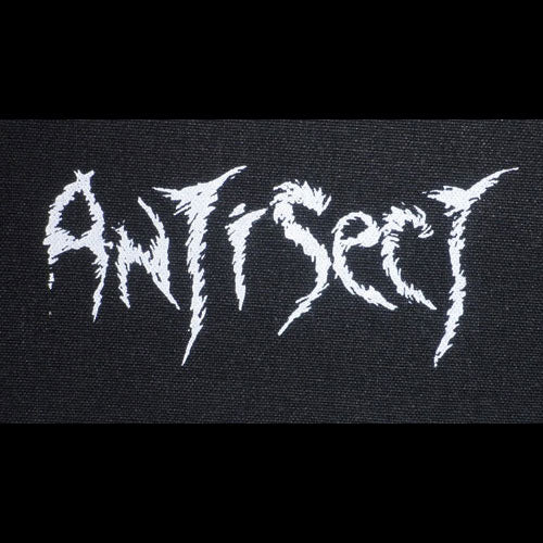 Antisect - White Logo (Printed Patch)