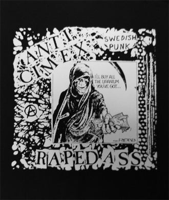 Anti Cimex - Raped Ass (Backpatch)