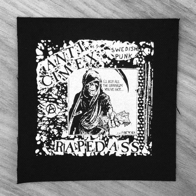 Anti Cimex - Raped Ass (Printed Patch)