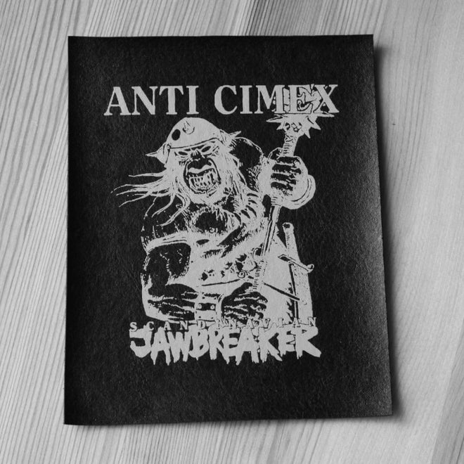 Anti Cimex - Scandinavian Jawbreaker (Leather) (Printed Patch)