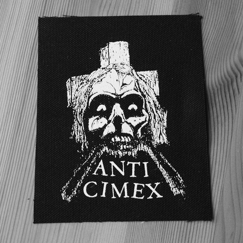 Anti Cimex - Skull Cross (Printed Patch)