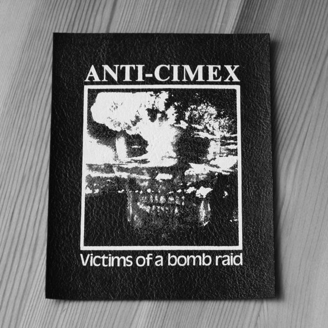 Anti Cimex - Victims of a Bomb Raid (Leather) (Printed Patch)