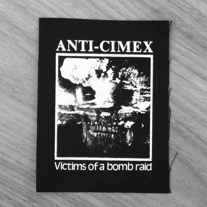 Anti Cimex - Victims of a Bomb Raid (Printed Patch)