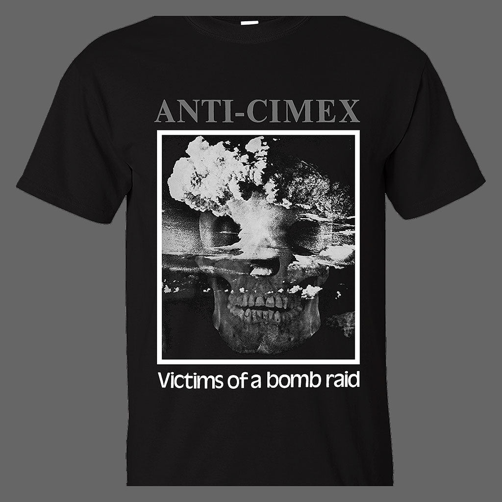 Anti Cimex - Grey Logo / Victims of a Bomb Raid (T-Shirt)