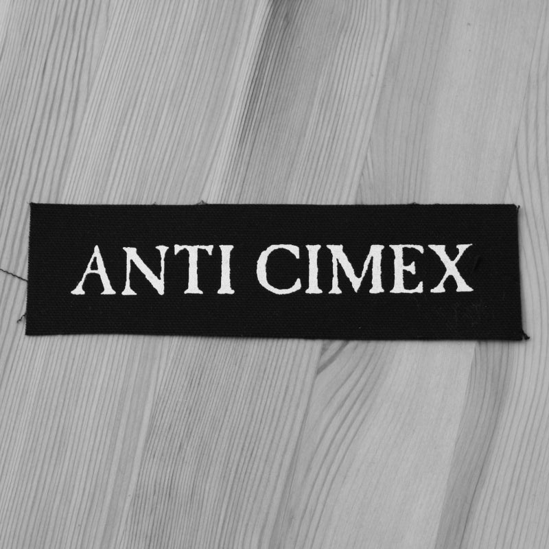 Anti Cimex - White Logo (Printed Patch)