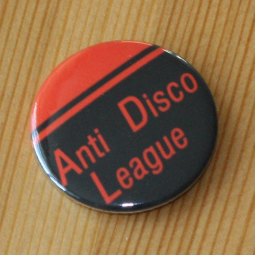 Anti Disco League - Red (Badge)