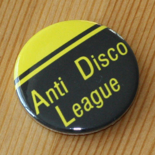 Anti-Disco League - Yellow (Badge)