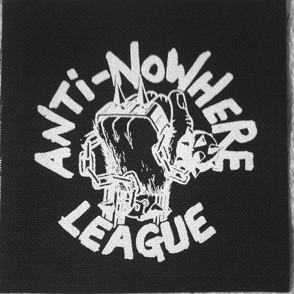 Anti-Nowhere League - Logo (Printed Patch)