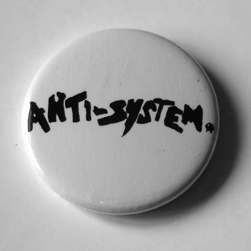 Anti-System - Black Logo (Badge)