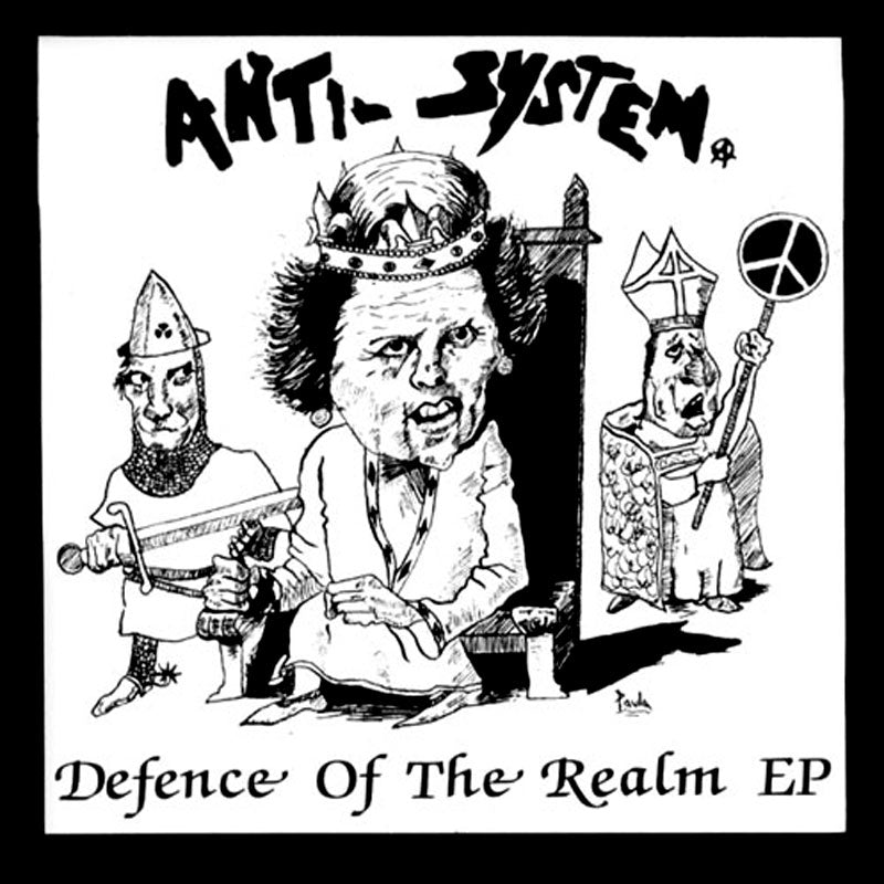 Anti-System - Defence of the Realm (2010 Reissue) (Purple Edition) (EP)