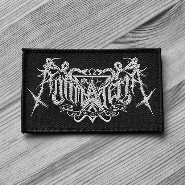 Antimateria - Logo (Woven Patch)