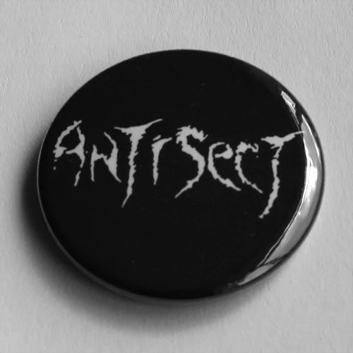 Antisect - White Logo (Badge)