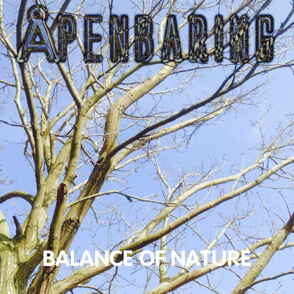 Apenbaring - Balance of Nature (CD-R)