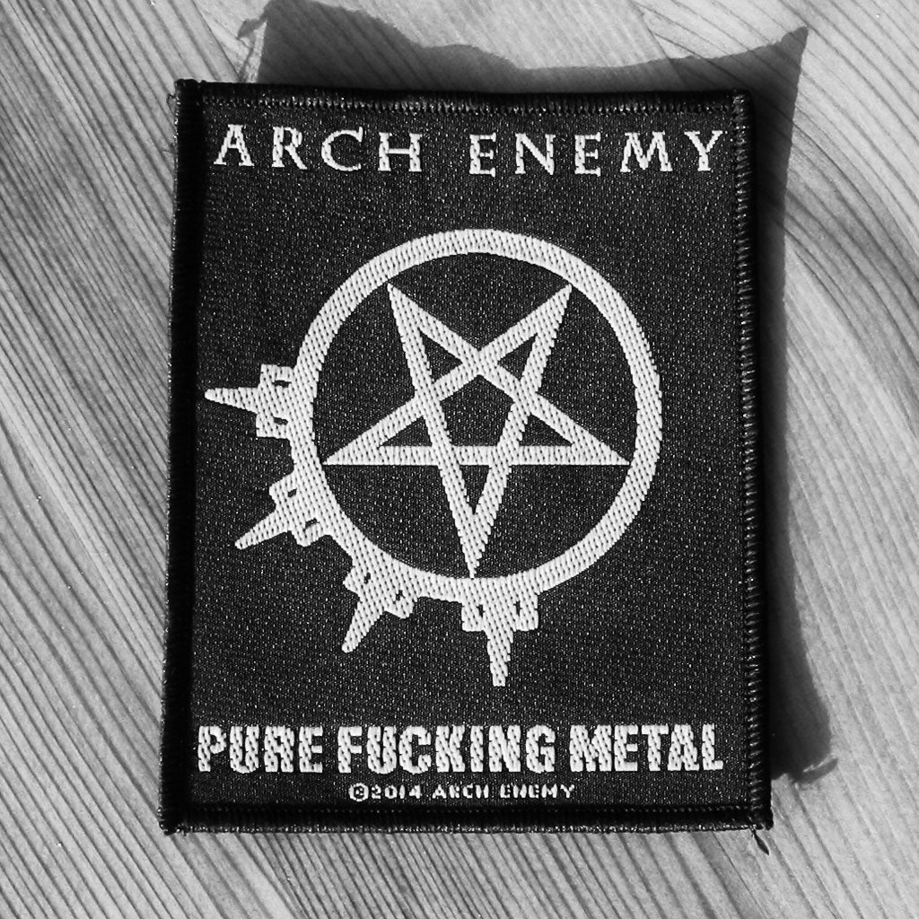 Arch Enemy - Pure Fucking Metal (Woven Patch)