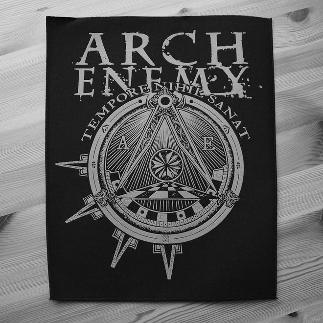 Arch Enemy - Tempore Nihil Sanat (Backpatch)
