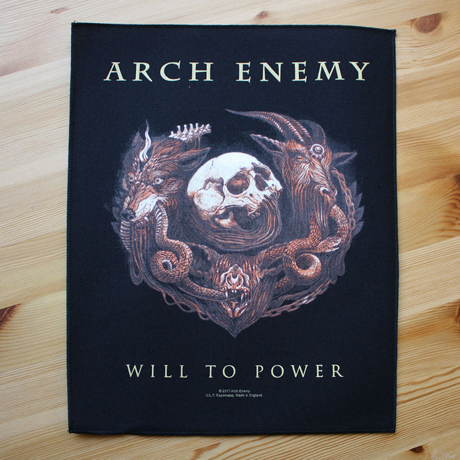 Arch Enemy - Will to Power (Backpatch)
