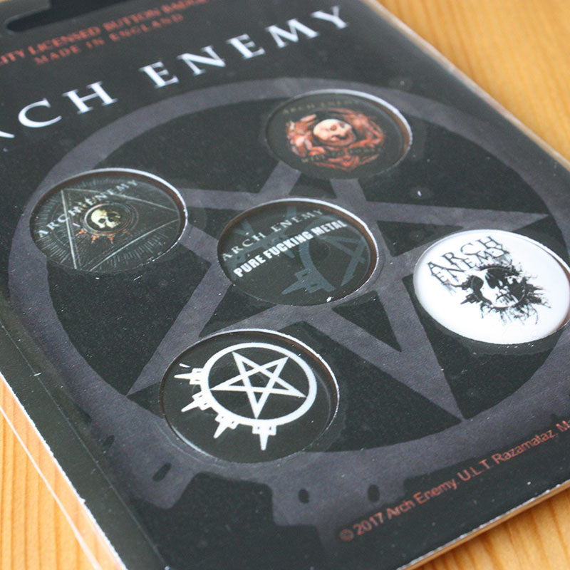 Arch Enemy - Will to Power (Badge Pack)