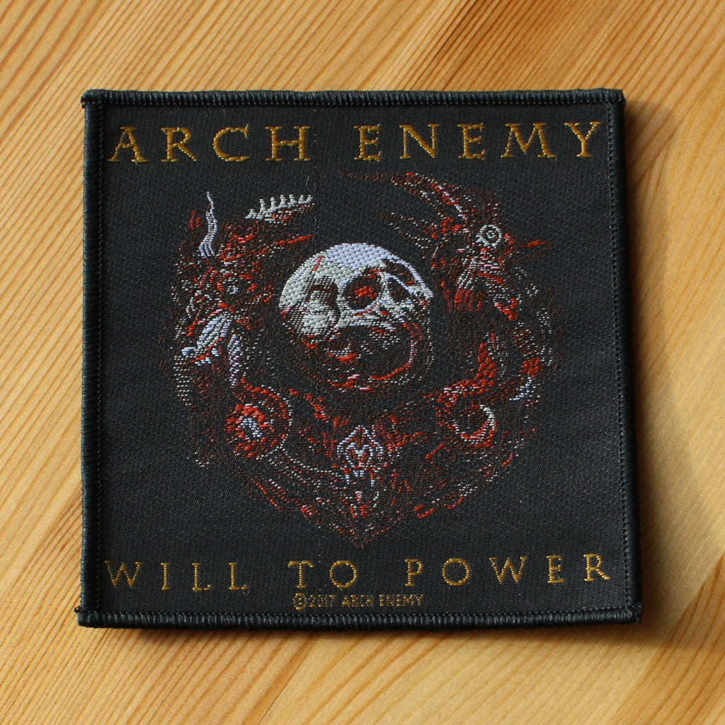 Arch Enemy - Will to Power (Woven Patch)