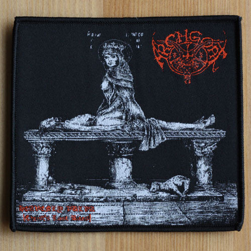 Archgoat - Heavenly Vulva (Christ's Last Rites) (Woven Patch)