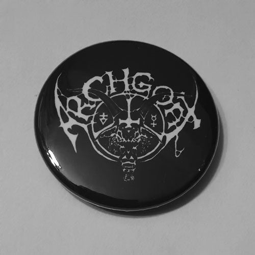 Archgoat - White Logo (Badge)