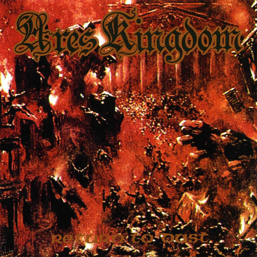 Ares Kingdom - Return to Dust (CD)