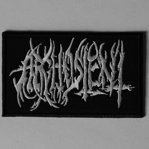 Arghoslent - White Logo (Embroidered Patch)