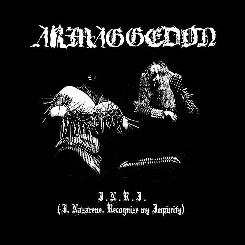 Armaggedon - I.N.R.I. (I, Nazarene, Recognize My Impurity) (Digipak CD)