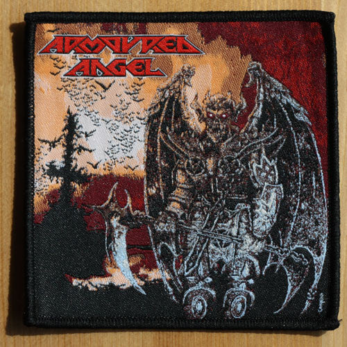 Armoured Angel - Angel of the Sixth Order (Woven Patch)