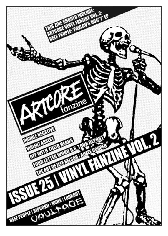 Artcore - Issue 25 (with Beef People EP) (Zine)