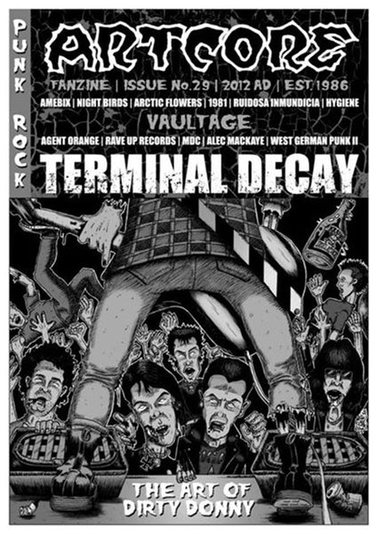 Artcore - Issue 29 (with Terminal Decay LP) (Zine)