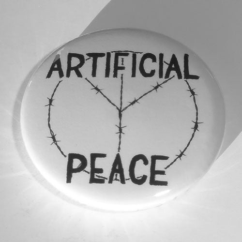 Artificial Peace - Black Logo (Badge)