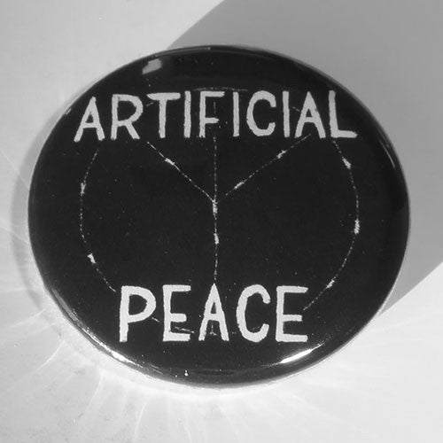 Artificial Peace - White Logo (Badge)