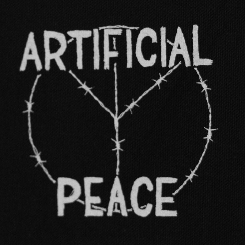 Artificial Peace - White Logo (Printed Patch)
