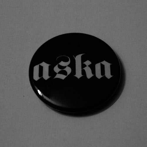 Aska - White Logo (Badge)