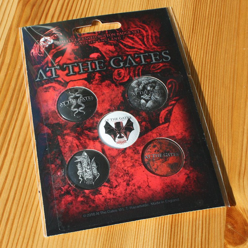 At the Gates - To Drink from the Night Itself (Badge Pack)