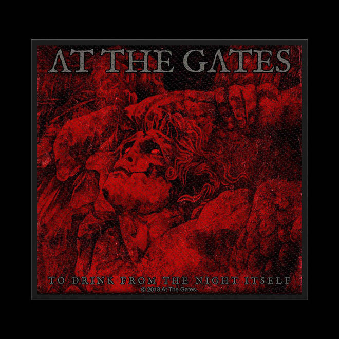 At the Gates - To Drink from the Night Itself (Woven Patch)