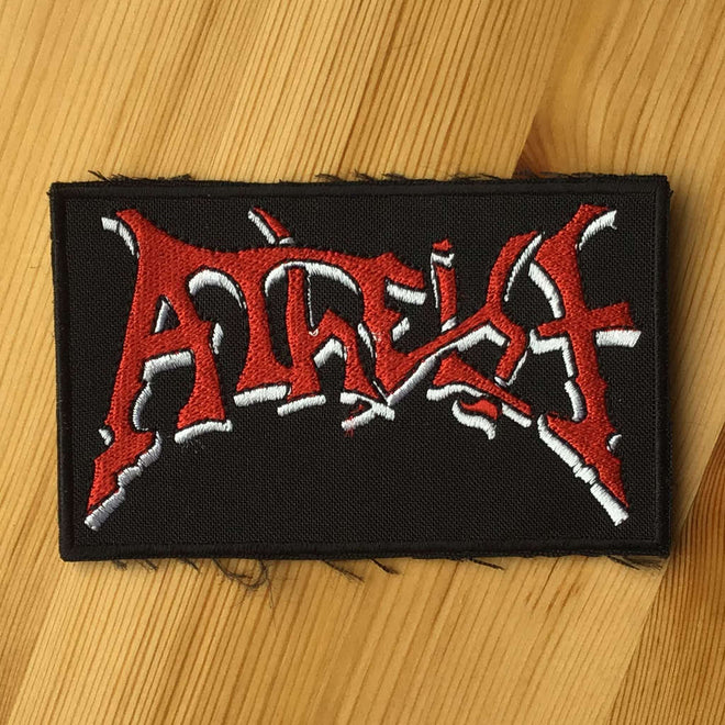 Atheist - Red Logo (Embroidered Patch)