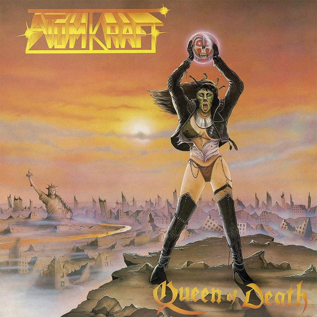 Atomkraft - Queen of Death (2019 Reissue) (Digipak CD)