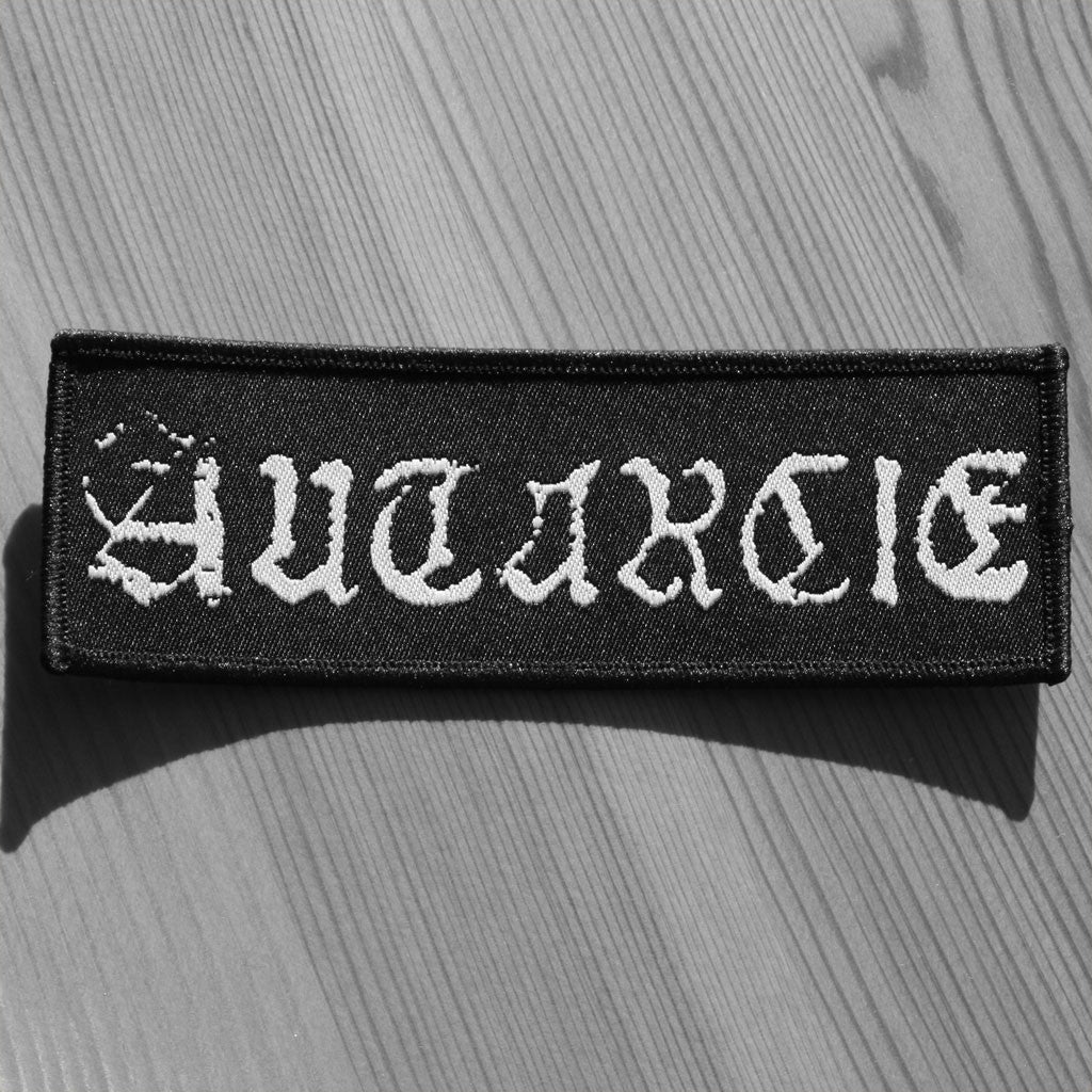 Autarcie - White Logo (Woven Patch)