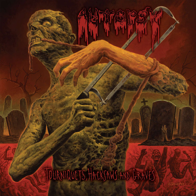 Autopsy - Tourniquets, Hacksaws and Graves (CD)