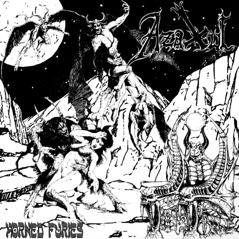 Azaxul - Horned Furies (2015 Reissue) (CD)